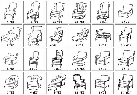 Yardage Guide - Chairs